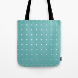 Painting of the Ocean on a Penny Print Tote Bag