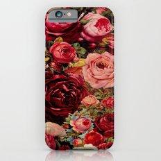 Vintage roses iPhone 6s Slim Case