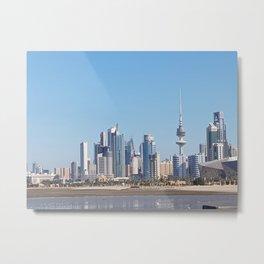 Kuwait city Metal Print
