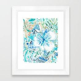 SMELLS LIKE BLUE NECTAR Framed Art Print