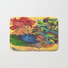 Plucky Rooster Bath Mat