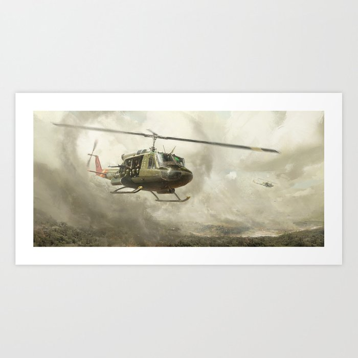 RIDE OF THE VALKYRIES Art Print