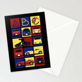Kei Cars ABC Stationery Cards