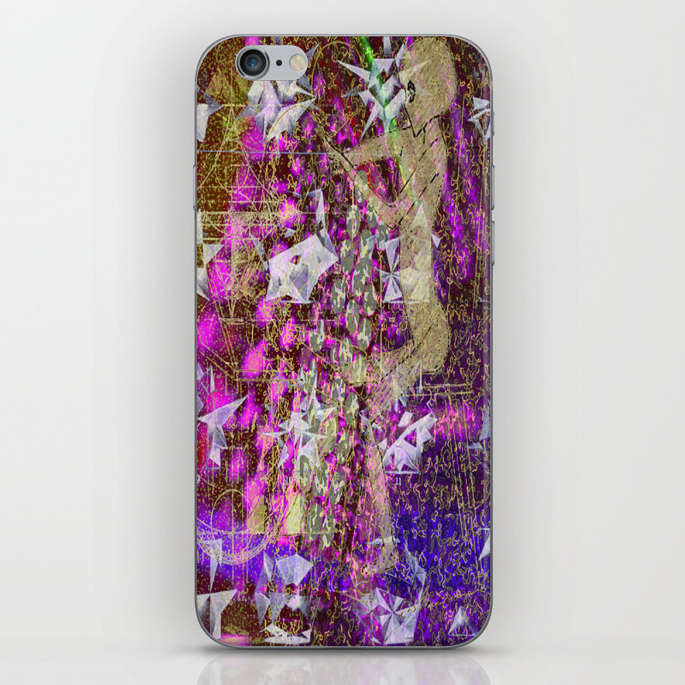 Just The Same Old Song Iphone & Ipod Skin by Pattonmcginley PSK8032679
