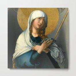 "Albrecht Dürer ""The Seven Sorrows of the Virgin"" Metal Print"