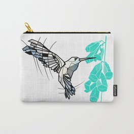 Hummingbird geometric Carry-All Pouch
