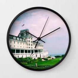 Ocean House Hotel in Watch Hill Rhode Island Wall Clock