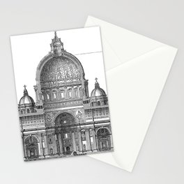 St. Peter Basilica - Rome, Italy Stationery Cards