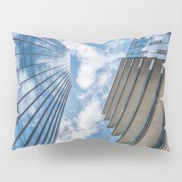 Clouds in a blue sky Pillow Sham