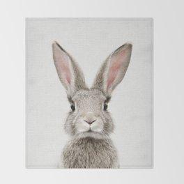 Bunny Portrait Decke