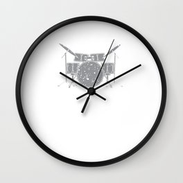 Drummers Drumming Musicians Drums Music Lovers Rock Bands Gift Wall Clock