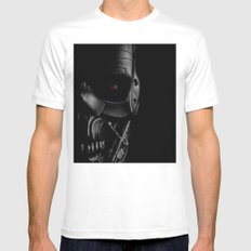 Endoskeleton Mens Fitted Tee MEDIUM White