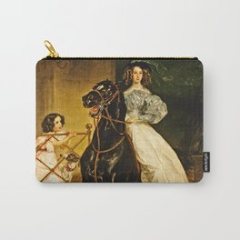 Karl Bryullov - A Rider Carry-All Pouch