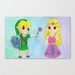Be Mine, Zelda Canvas Print