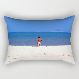 The Swimmer Rectangular Pillow