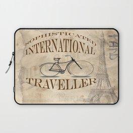 Sophisticated International Traveller Laptop Sleeve