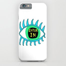 Enter In iPhone Case