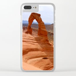 Delicate Arch A Famous Landmark Clear iPhone Case