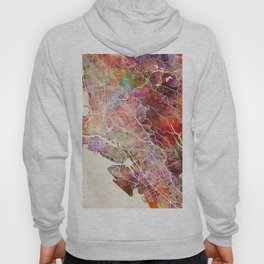 Oakland map Hoody