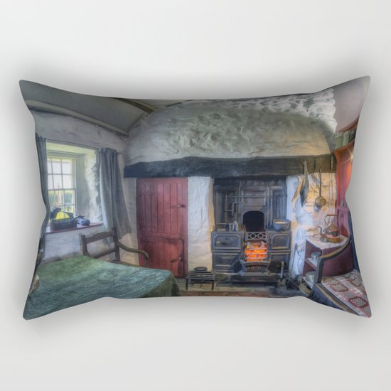 Olde Country Home Rectangular Pillow
