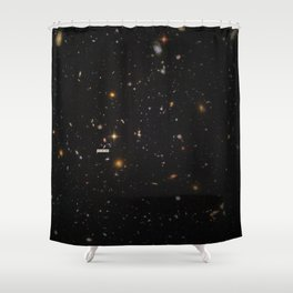 THE UNIVERSE - Space   Time   Stars   Galaxies   Science   Planets   Past   Love   Design Shower Curtain