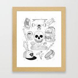 SK8 5tuff Framed Art Print