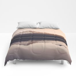 Wild Mountain Sunrise Comforters
