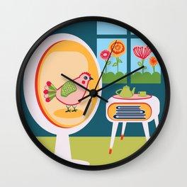 House Chicken Wall Clock