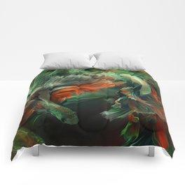 """""""Betta splendens Deep water (Siam fighter)"""" Comforters"""