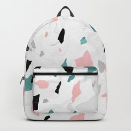 Shining, Spring Rose, Terrazzo. Backpack