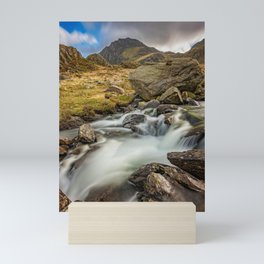 Tryfan Mountain north Wales Mini Art Print