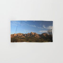 The majesty of the mountains at Catalina State Park IV Hand & Bath Towel