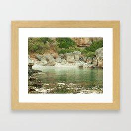 marine collection. Greece. Kefalonia Framed Art Print