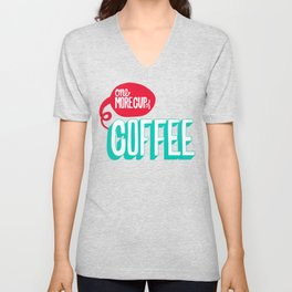 Cup of Coffee Unisex V-Neck