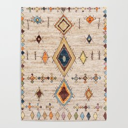 N250 - Oriental Heritage Berber Traditional Moroccan Style Poster