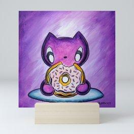 Skribbles: Because Doughnut Mini Art Print