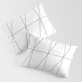 Inverted Triangles by Friztin Pillow Sham