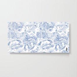 Toile du Water breathing Metal Print