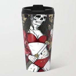 Samurai Empress Metal Travel Mug