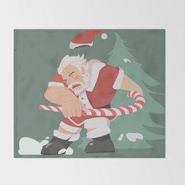 Santa reinhardt Throw Blanket