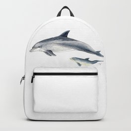 Bottlenose dolphin Backpack
