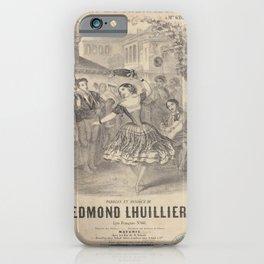 Lhuillier Edmond  Pepita la grenadine iPhone Case