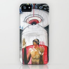 The suffocation of the counsciousness iPhone Case