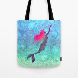 The Little Mermaid, Ariel, Watercolour Tote Bag