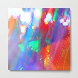 Neon Lights #neonlights Metal Print