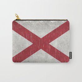 State flag of Alabama - Vintage version Carry-All Pouch