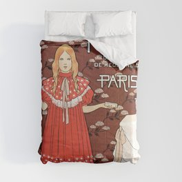 Dentifrice French belle epoque toothpaste ad Comforters