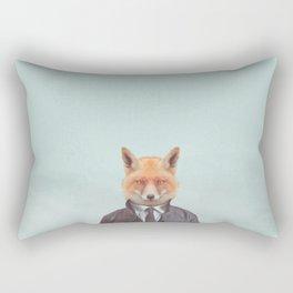 Foxed Rectangular Pillow