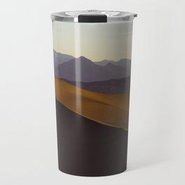 Sand Dunes Death Valley California Travel Mug