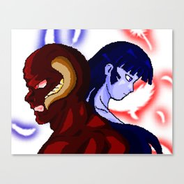 Demon and Girl, TwoSouls Canvas Print